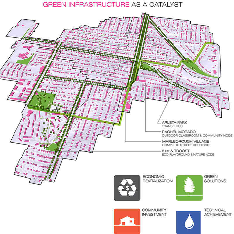 Downtown Marlborough Green Infrastructure Streetscape case study page